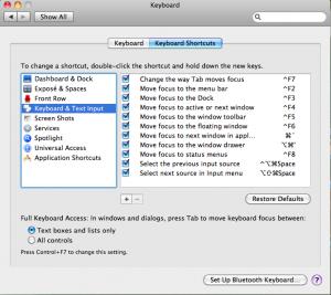 Keyboard & Text Input