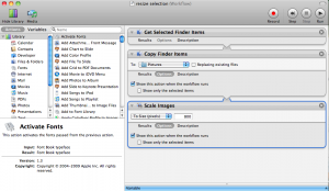 Setting Automator To Ask For Values
