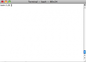 Clean Bash Prompt